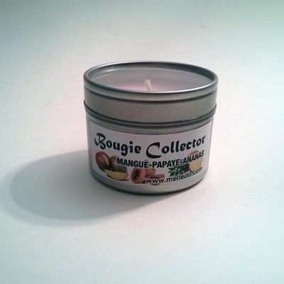 bougie collector mangue papaye