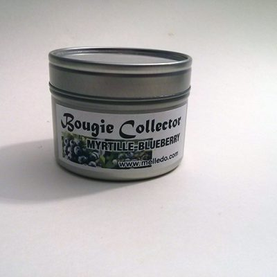 bougie collector myrtille blueberry