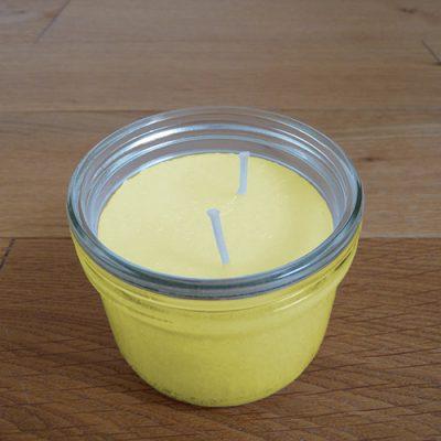 bougie parfumee xl ananas