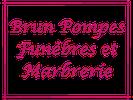 Pompes Funèbres Brun