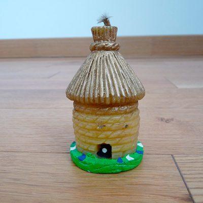 bougie paillote cire abeille enfant