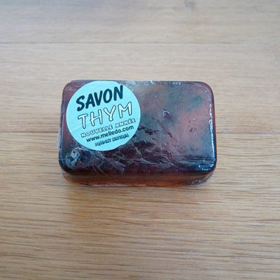 savon parfumé feuille de thym